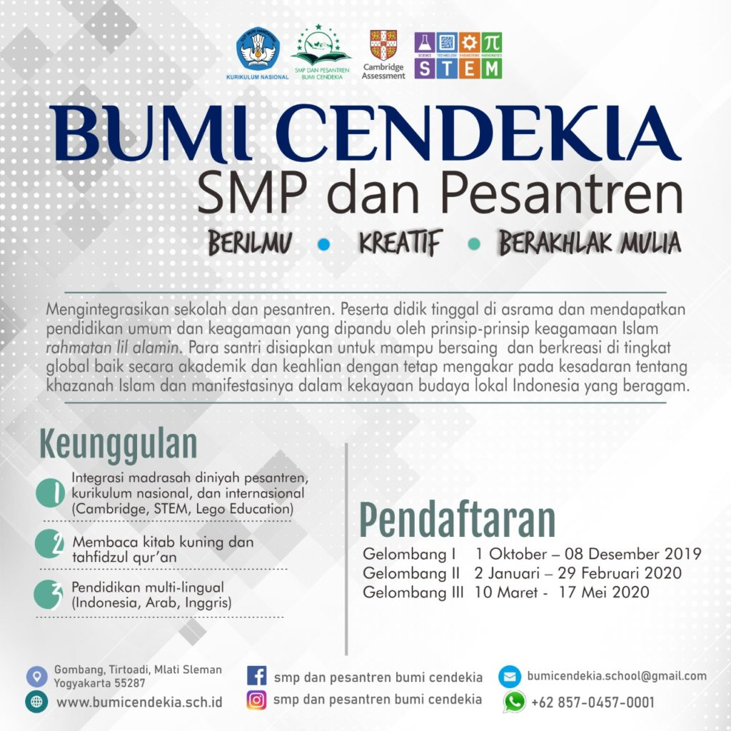 jadwal pendaftaran
